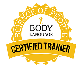 Science of Peopl Certified Body Language Trainer Badge