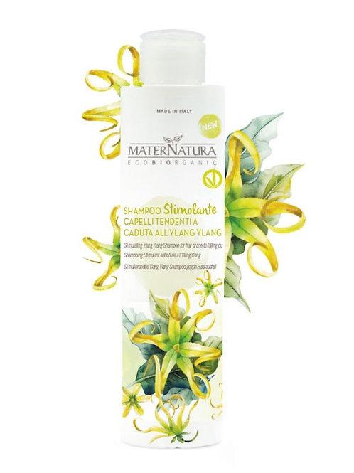 Shampoo Stimolante Capelli all' Ylang Ylang - MATERNATURA