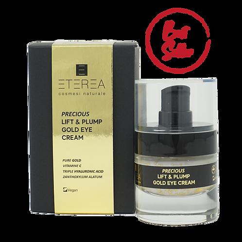 Lift & Plump Gold Eye Cream - Eterea Cosmesi Naturale