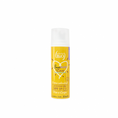 Crema Solare Colorata SPF50 Viso/Corpo - Parentesi Bio