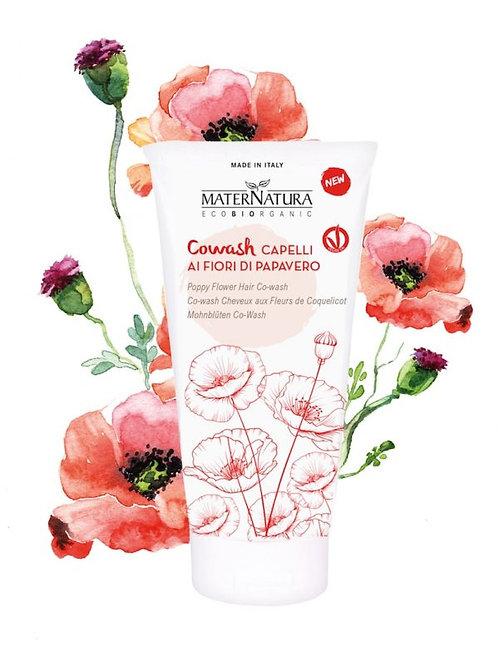 Co-Wash Capelli ai fiori di Papavero - MATERNATURA