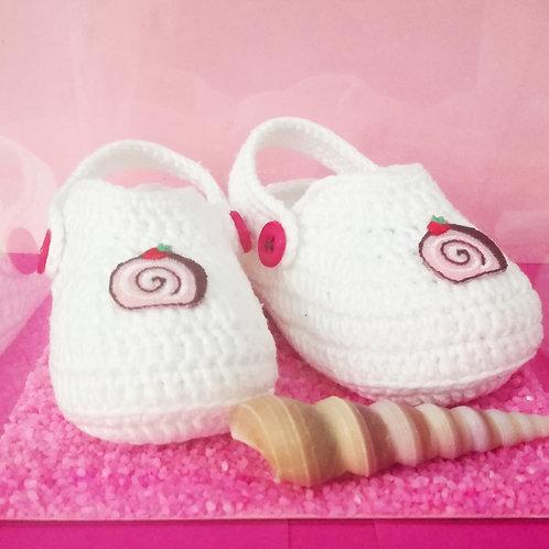 🎀 CROCS per neonata 🎀 - 100% HANDMADE