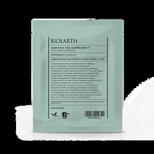 Maschera in tessuto Purificante - Bioearth