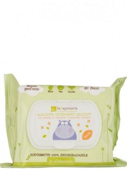 Salviette detergenti Bimbi - La Saponaria