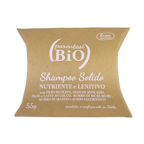 Shampoo Solido Nutriente e Lenitivo - Parentesi Bio