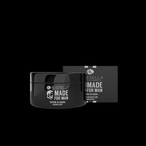 Saponetta Rasatura per Uomo - Alkemilla EcoBio Cosmetics