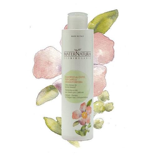 Shampoo al Cisto per Capelli GRASSI - MATERNATURA