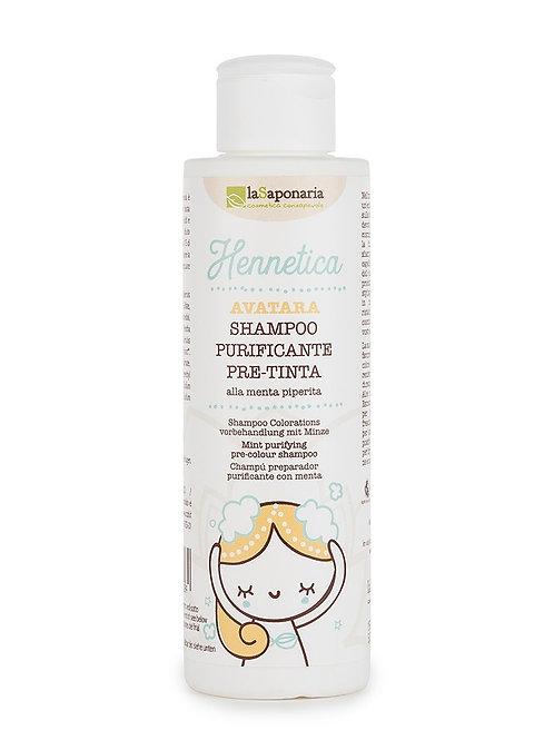 Shampoo Purificante Pre-Tinta - La Saponaria
