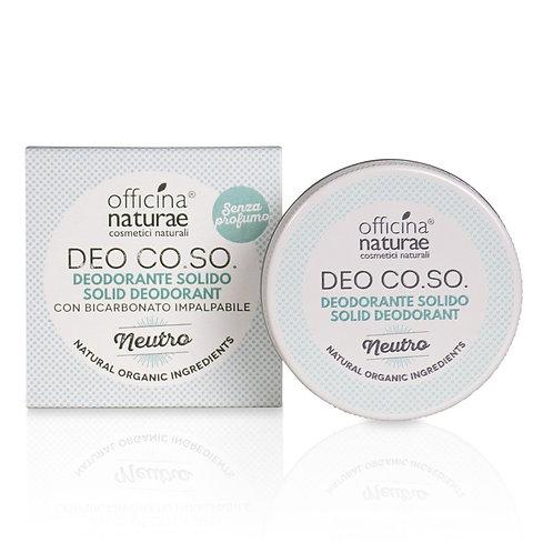 Deodoranti Solidi - Officina Naturae