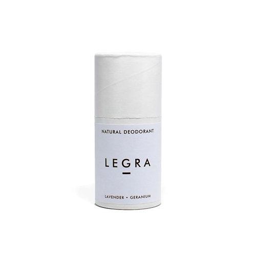 LEGRA - Natural Deodorant Stick With Lavender, Geranium & Patchouli