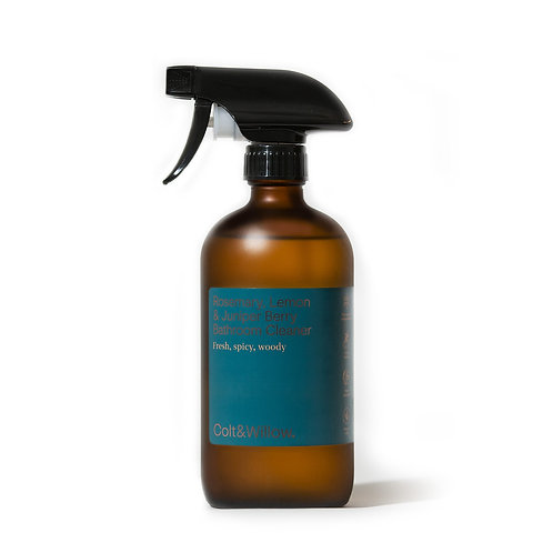 Colt & Willow - Eco Friendly Rosemary, Lemon and Juniper Berry Bathroom Cleaner
