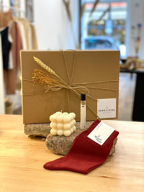 Sustainable Lifestyle Gift Box - Roll, Wear + Light