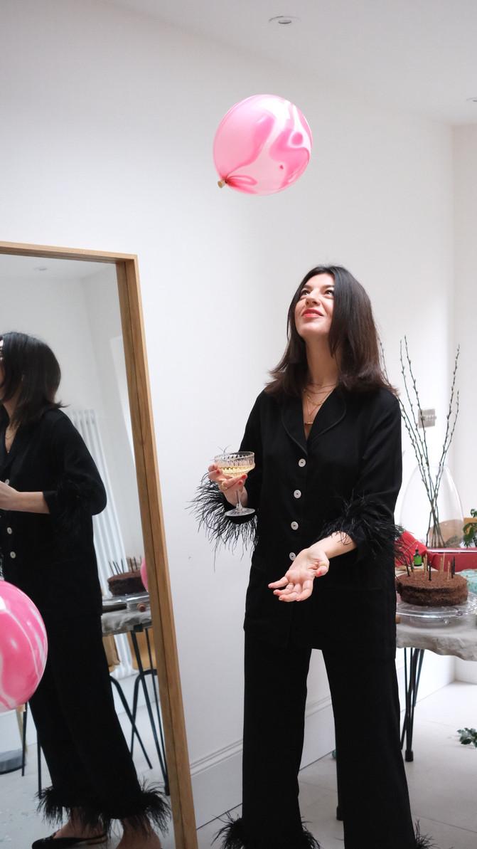 At Home With Francesca Saffari | Content creator