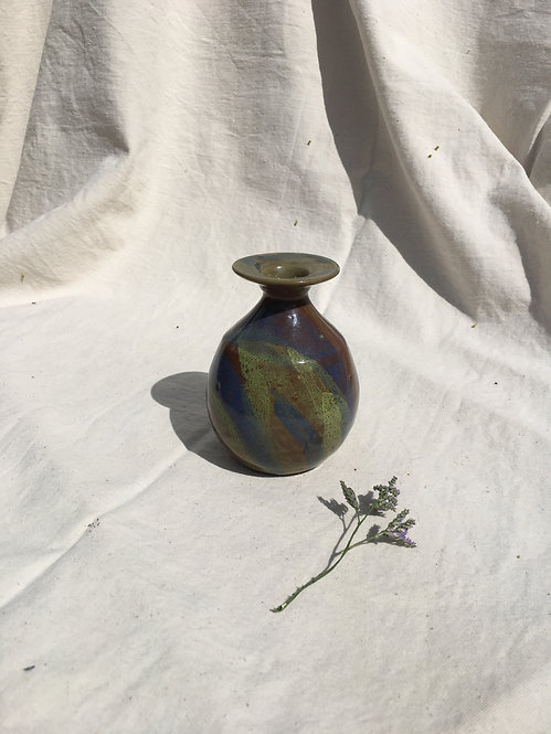 BCC - Vintage Small Hand Painted Vase