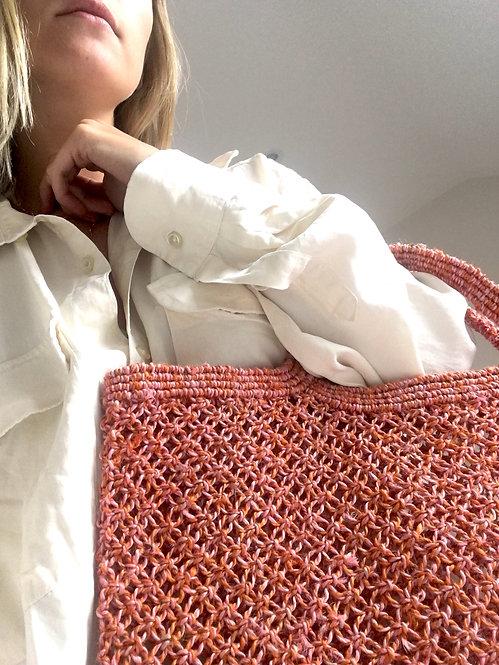 Zero-Living x Maison Bengal - Fair-trade Jute Macrame Bag
