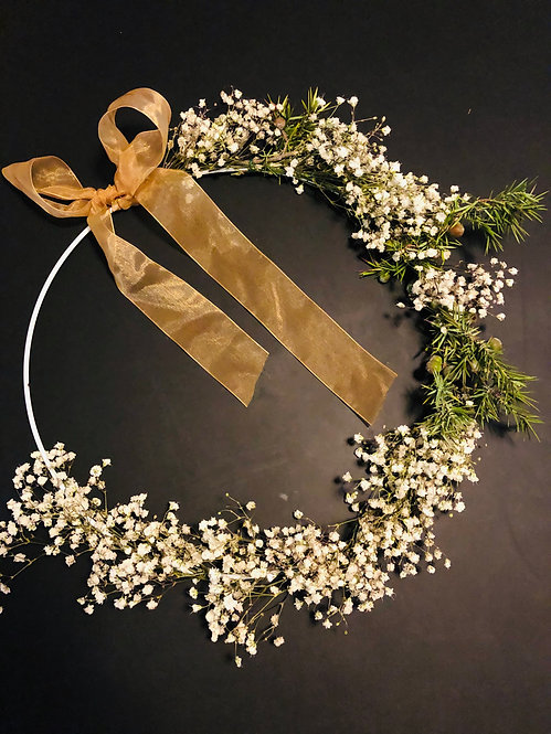 Florette Flowers - Christmas Contemporary Ring Wreath (Dried)