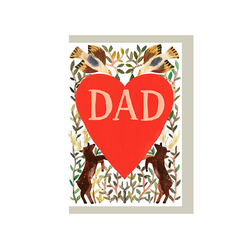 Hadley - Fathers Day Heart card