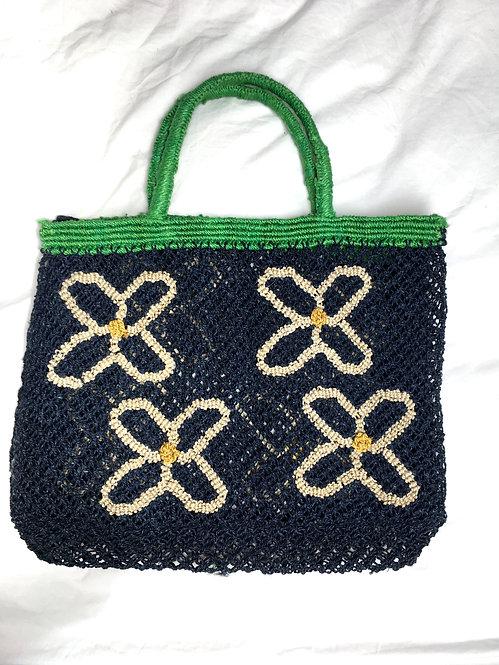 Zero-Living x Maison Bengal - Fair-trade Jute Macrame Daisy Bag