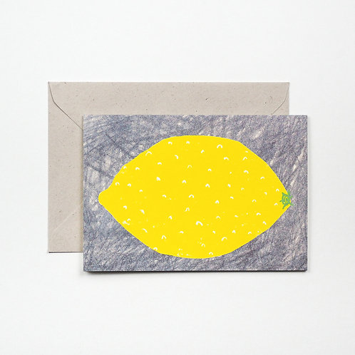 Hadley - Lemon card