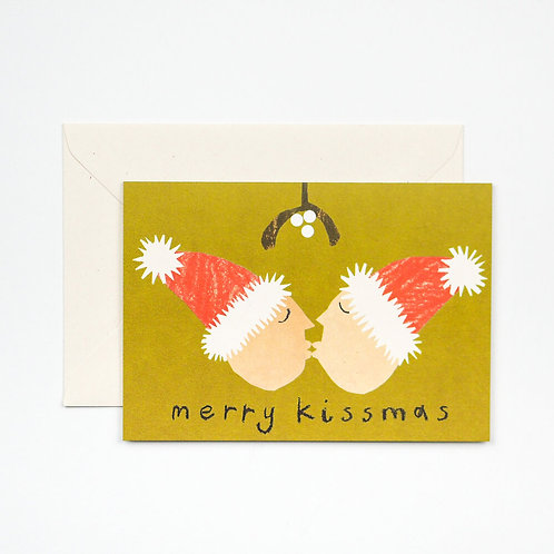 Hadley - Merry Kissmas Card