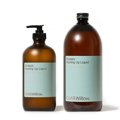 Colt & Willow - Eco Friendly Washing Up Liquid Refill & Re-use Duo