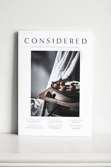Considered Magazine Volume 2 Zero Living