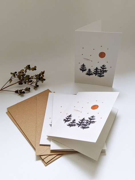 Festive cards and stationary