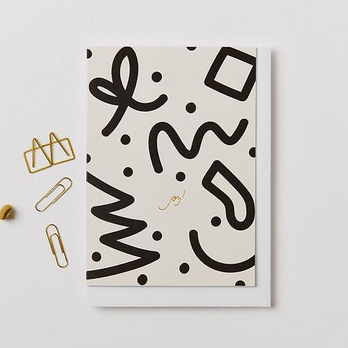 Kinshipped -Joy! Card