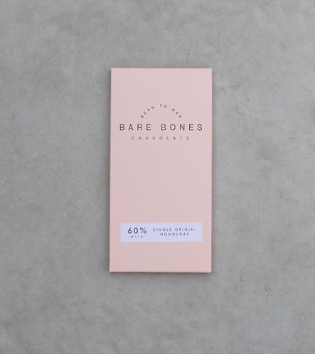 Bare Bones Chocolate - Honduras 60% Milk