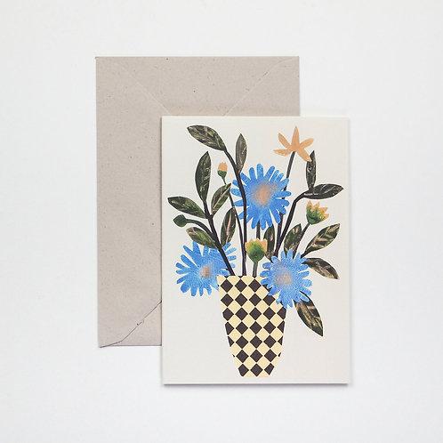 Hadley - Chequer Vase card