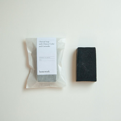 Homework - Activated Charcoal Soap
