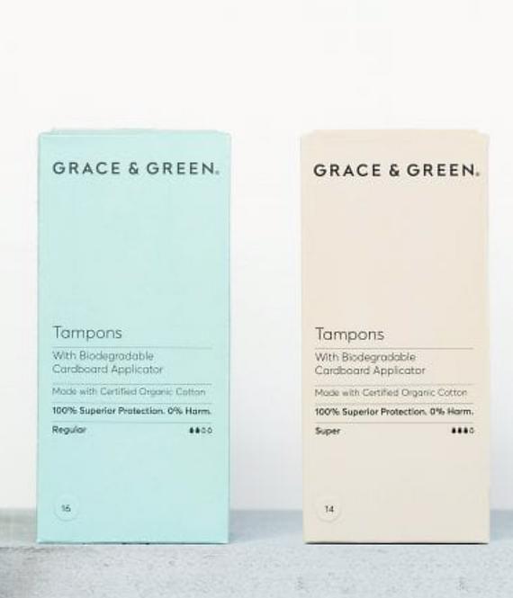 Grace & Green - Organic Applicator Tampons