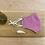 Thumbnail: Francesca Saffari - Gingham Reusable Mask | Bright Pink