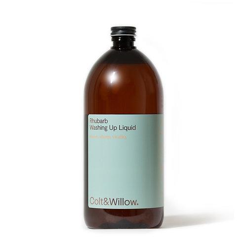 Colt & Willow - Eco Friendly Rhubarb Washing Up Liquid 1L Refill