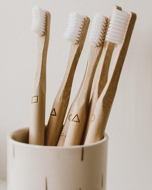 Goldrick - Bamboo Toothbrush | 4 Pack