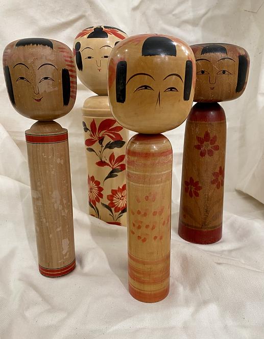 TAKARA - Vintage Japanese Kokeshi Dolls