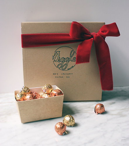 Diggle Chocolate - Home Chocolate Truffle Making Kit
