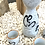 Thumbnail: TAKARA - Vintage Japanese Orange Accent Sake Set