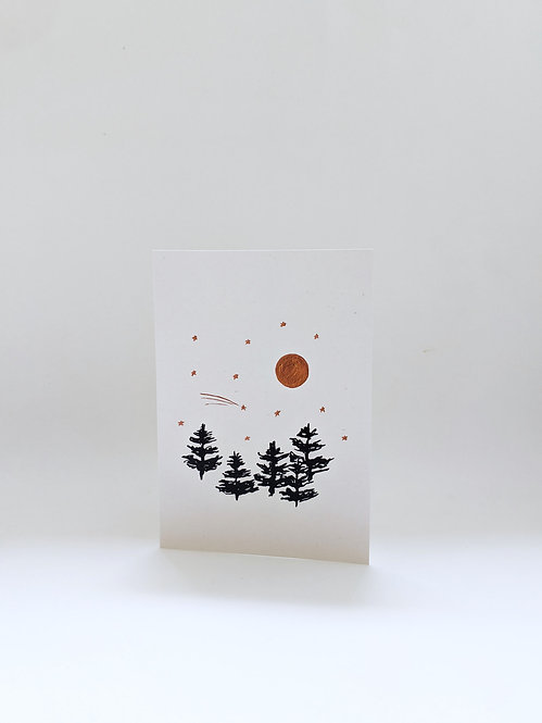 Nicola Rusted -  'Christmas Forrest' Greetings Cards