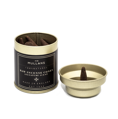 MR MULLAN'S - Raw Charcoal Incense Cones Signature