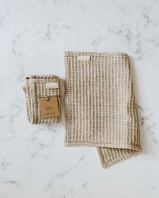 Goldrick - Linen Dish Cloth | 100% Linen