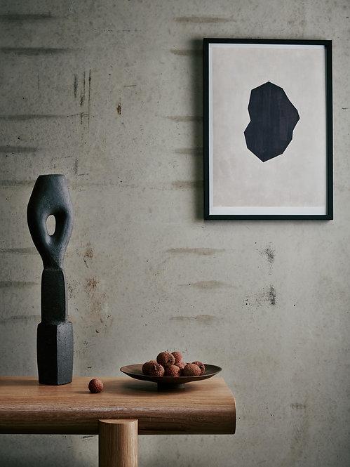 Nina.Lilli.Holden - Black Shape Print A3