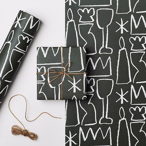 Kinshipped - Aeand Green Gift Wrap