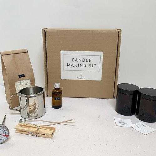 Cedar - Home Candle Making Kit