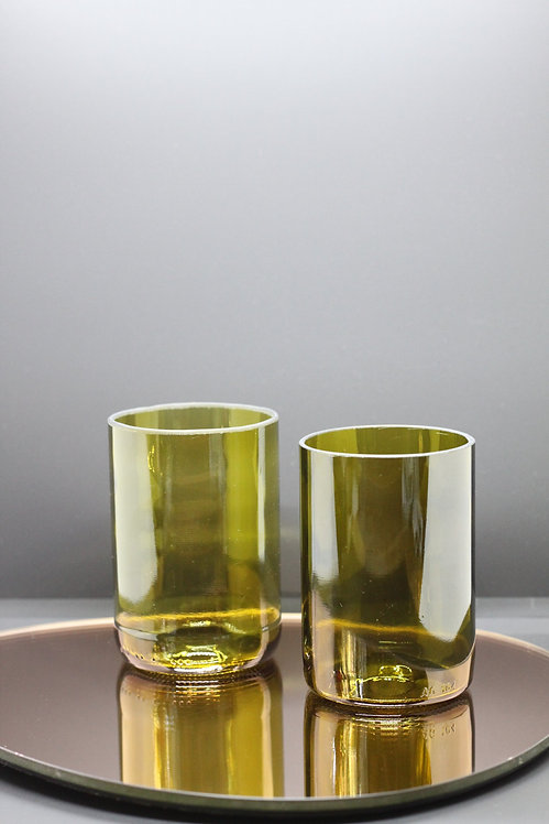 Ssalg - The Forest Twins Glass Tumbler