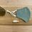 Thumbnail: Francesca Saffari - Gingham Reusable Mask   Forest Green