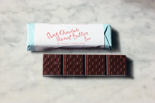 Diggle Chocolate - Dark Chocolate Peanut Butter Bar