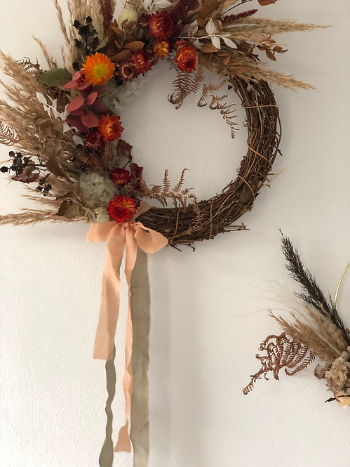 Autumnal Wreath Making with Florette Flowers - 15th October Ticket
