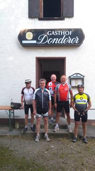 Sportler-Radelgruppe
