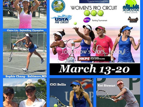 Pro Ladies Return to Orlando! March 13-20th at the Orlando Tennis Center